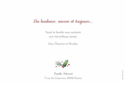 Carte de voeux Houx d'hiver - Page 2