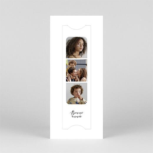 Carte de voeux Tendre innocence (marque-page) blanc - Vue 2