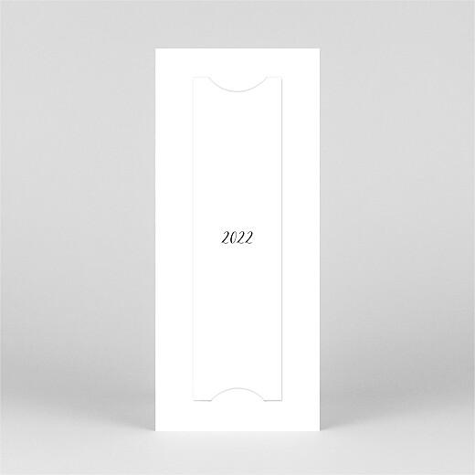 Carte de voeux Tendre innocence (marque-page) blanc - Vue 3