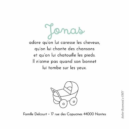 Faire-part de naissance À colorier ! by omy (triptyque) blanc - Page 5