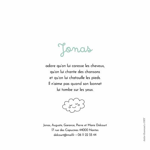 Faire-part de naissance À colorier ! by omy (4 pages) multicolore - Page 3