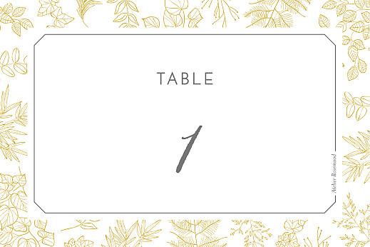 Marque-table mariage Délicatesse jaune - Page 2