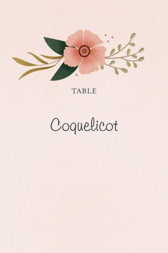 Marque-table mariage Daphné printemps