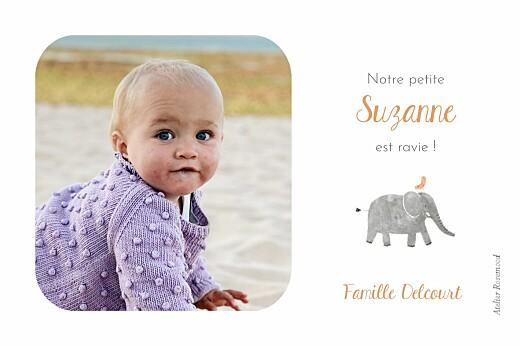Carte de remerciement Petite oasis - Page 2