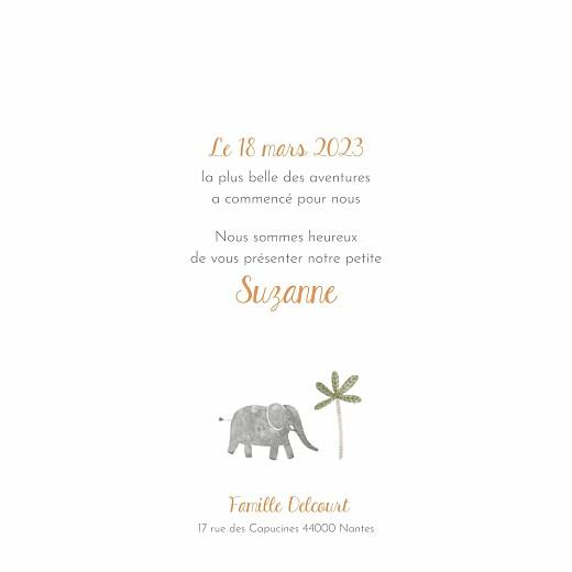 Faire-part de naissance Petite oasis (4 pages) beige - Page 3