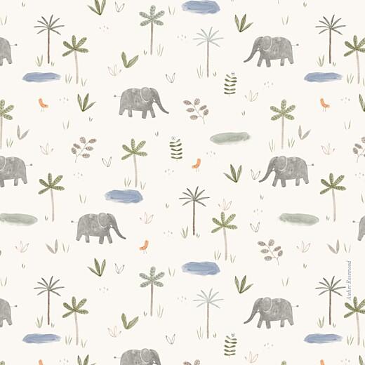 Faire-part de naissance Petite oasis (4 pages) beige - Page 4