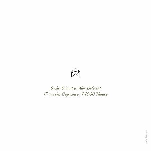 Faire-part de mariage Votre mariage en pictos (4 pages) - Page 4