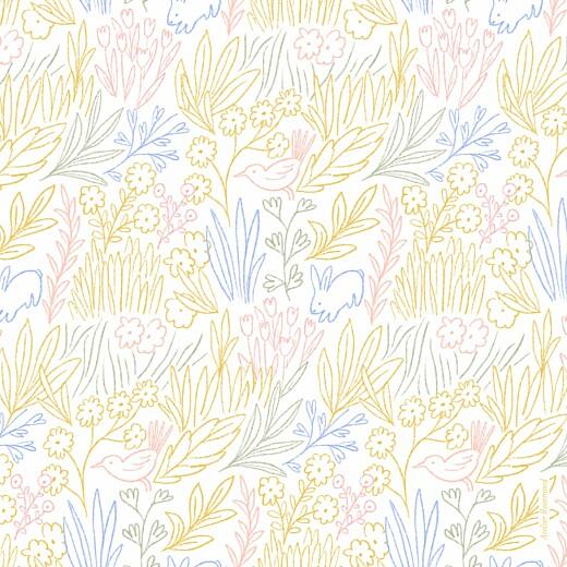 Faire-part de naissance Dans mon jardin (4 pages) jaune - Page 4