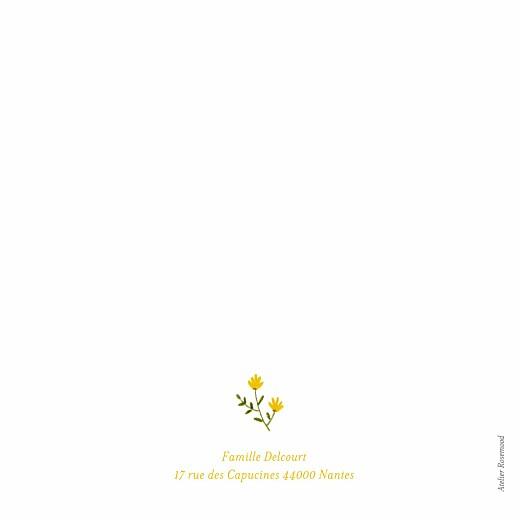 Faire-part de naissance Fleurs sauvages (4 pages) blanc - Page 4