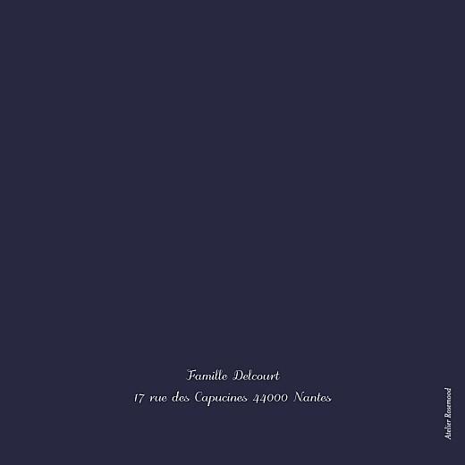 Carte de voeux Brins d'hiver (4 pages) bleu - Page 4