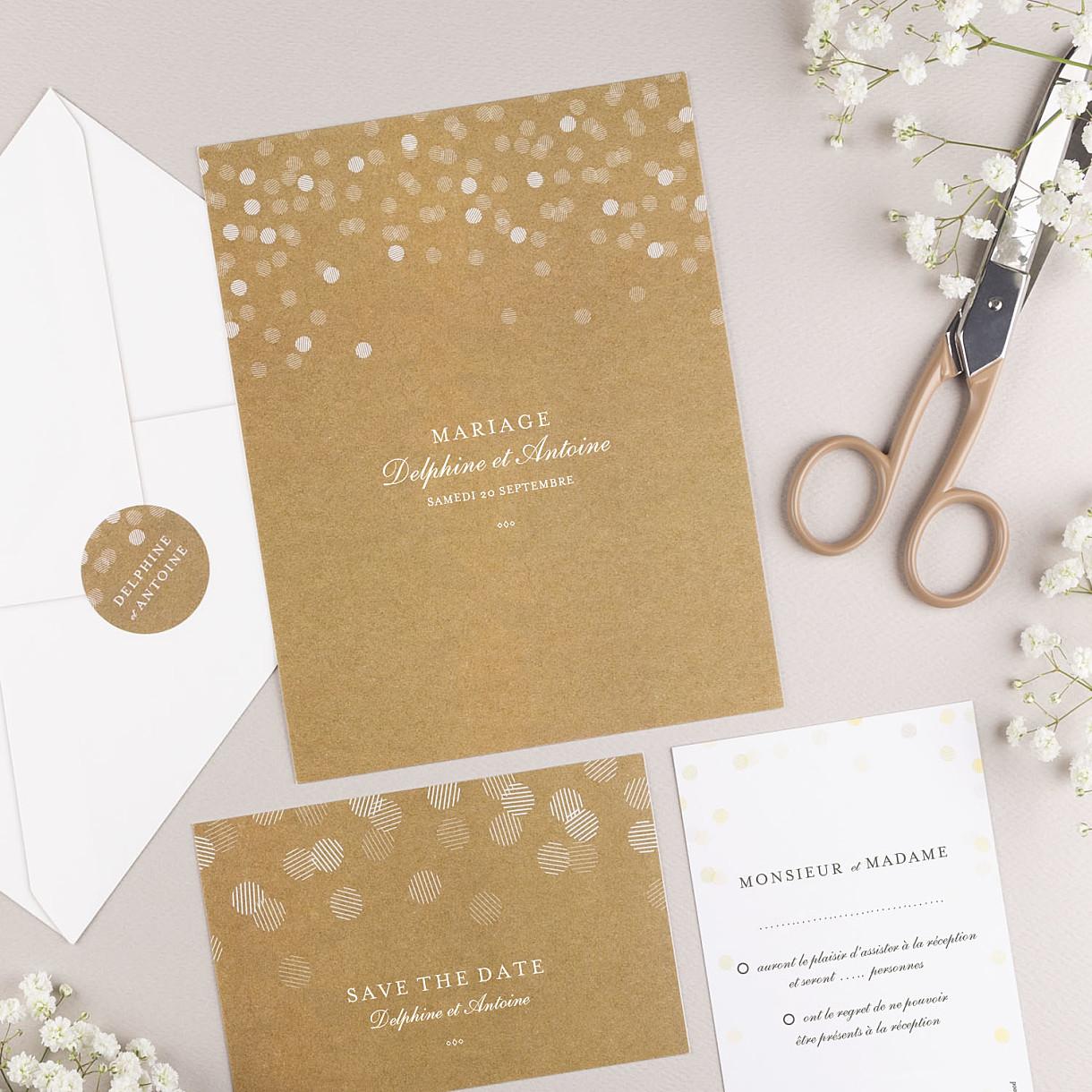 Carton Dinvitation De Mariage Rosemood