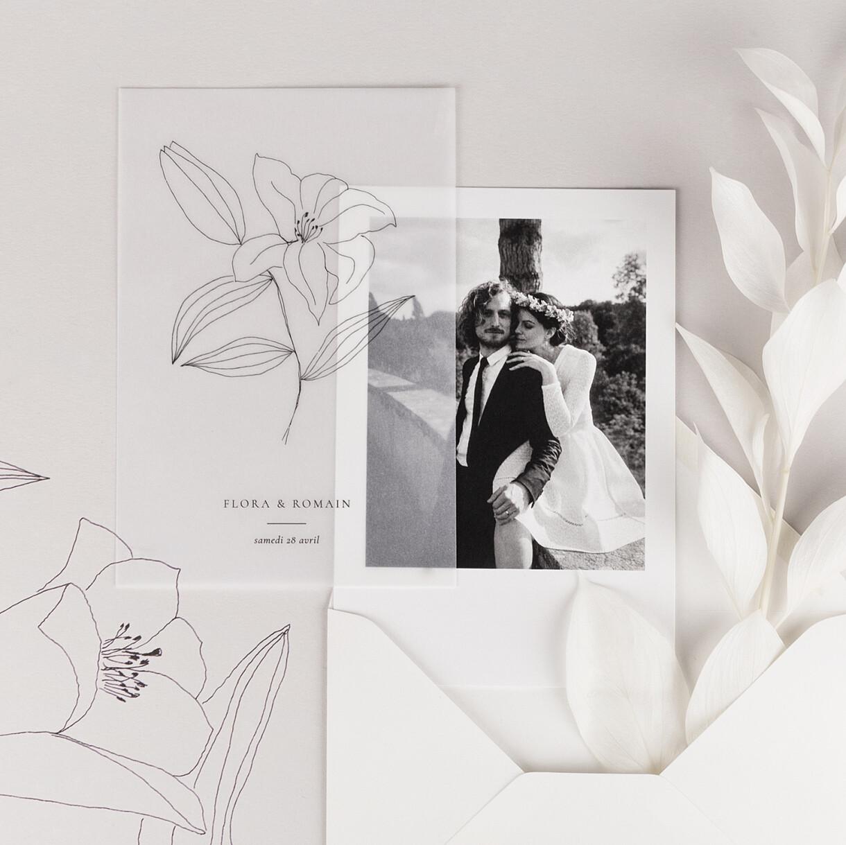 Carte de remerciement mariage poésie amoureuse