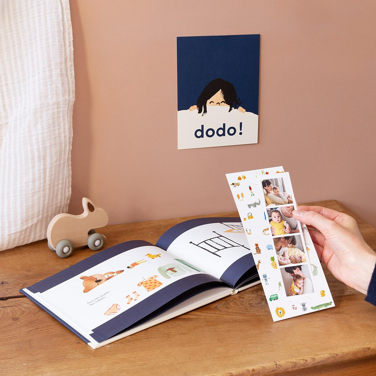 Faire-part de naissance dodo